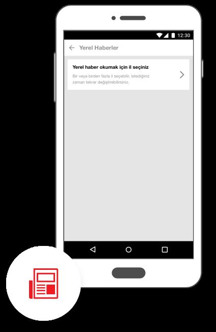 Hürriyet Mobile App Android Yerel Haberler