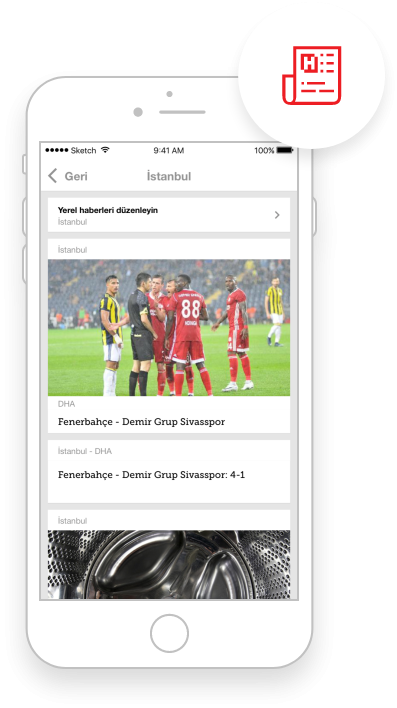 Hürriyet Mobile App IOS Offline Yerel Haberler