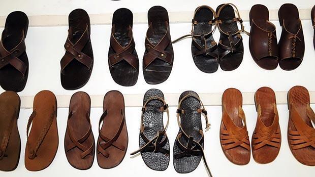 Prensesin sandaletleri Bodrumdan