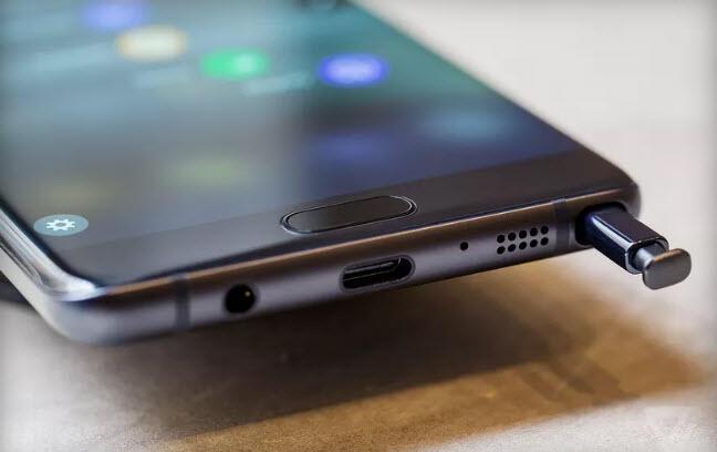 Galaxy Note 7 alacaklar mavi 'S' harfine dikkat!