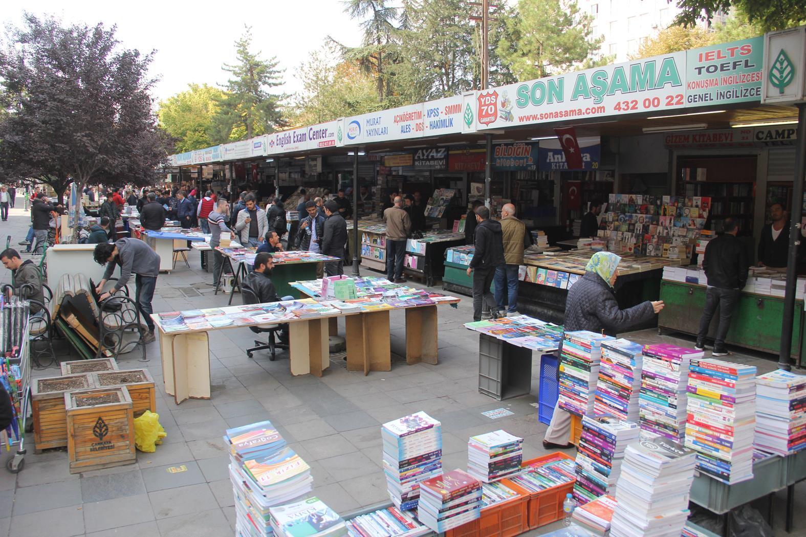 Ankara Haberleri - Kitapçıların stant tepkisi - Yerel Haberler