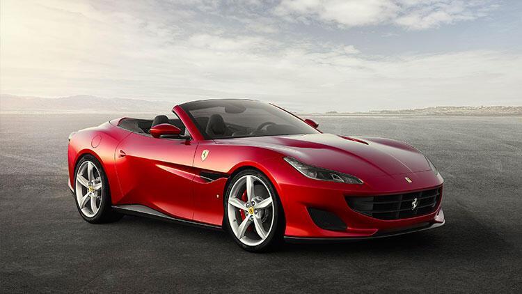 Ferrari Portofino Ya Ozel Boya Gelistirdi