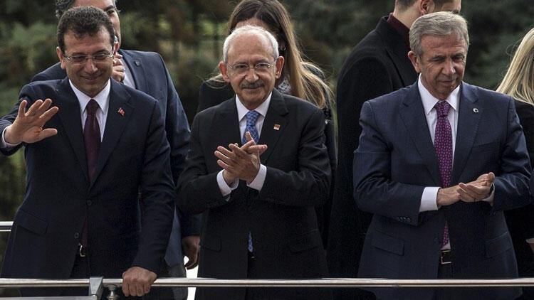 CHP lideri Kılıçdaroğlu, İmamoğlu ve Yavaş ile partililere seslendi - Son Dakika Flaş Haberler