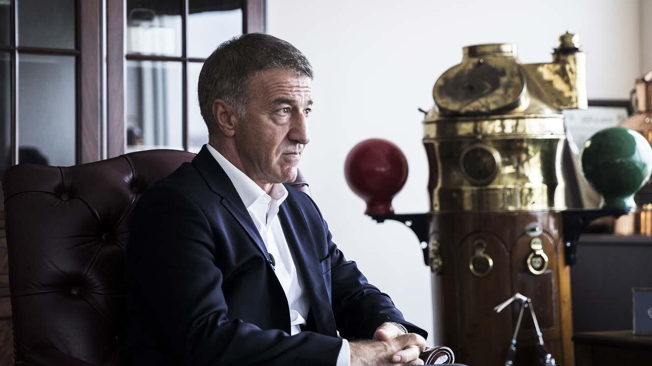 Ahmet Ağaoğlu Trabzonspor'un yeni borç rakamını açıkladı