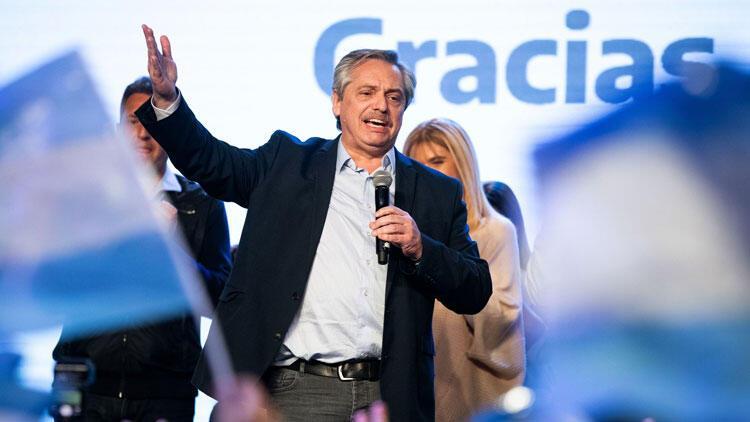 """Arjantin'de ön seçimlerin galibi Alberto Fernandez """"mutluluk"""" sözü verdi - En Son Haberler"""