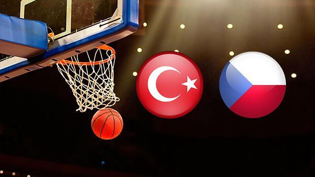 Türkiye Çek Cumhuriyeti basket maçı ne zaman saat kaçta hangi kanalda?