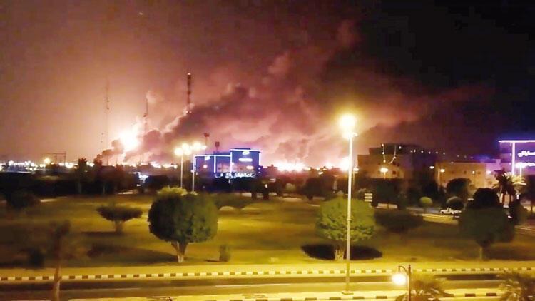 Suudi Arabistan rafinerilerine SİHA saldırısı