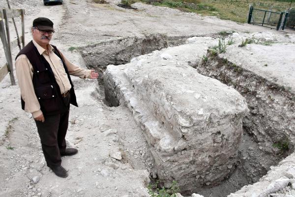 Edirne'de Bizans dönemine ait su dağıtım şebekesi bulundu