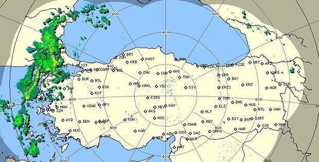 Son dakika... Beklenen yağış başladı, İstanbul'a çok az kaldı! İşte son radar görüntüsü...