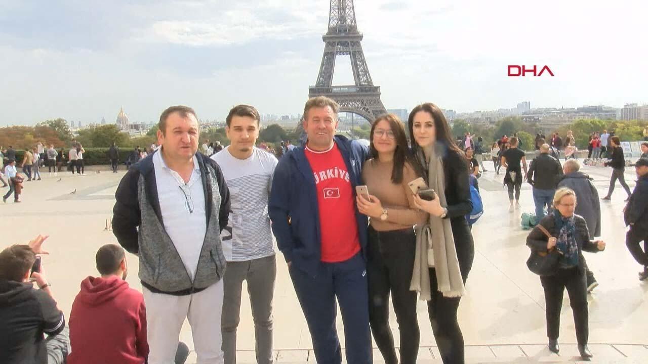 Millilere Stade De France'ta büyük destek