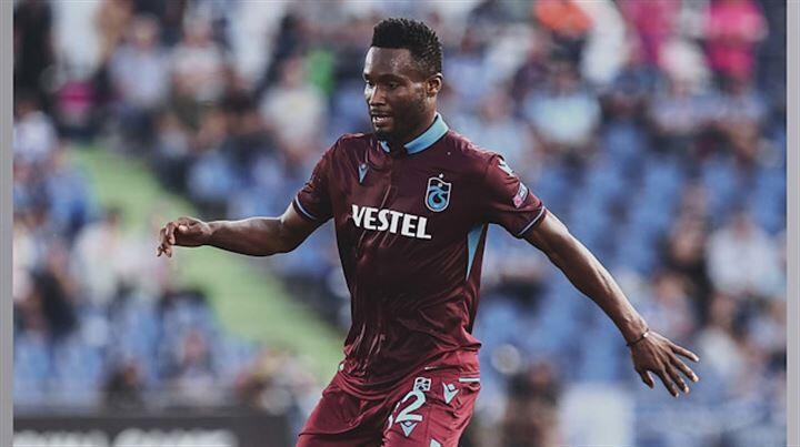 Trabzonspor'da Obi Mikel'in sağlık durumu açıklandı