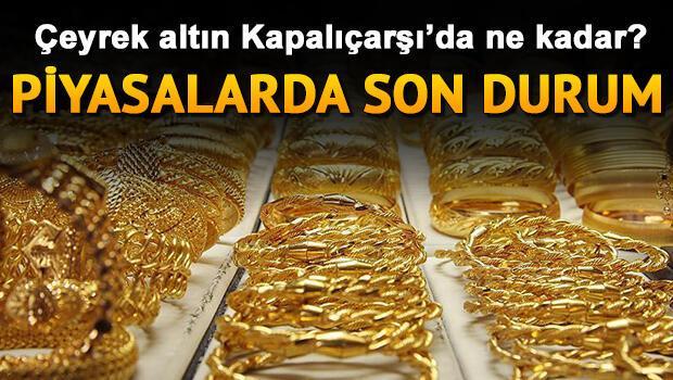 Çeyrek altın fiyatları çarşamba günü kapanışta ne kadar oldu? 6 Kasım güncel gram, yarım ve tam altın fiyatları