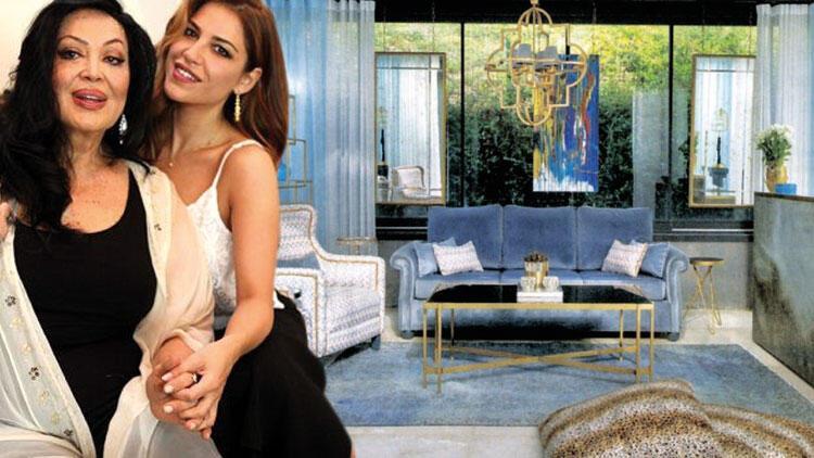 Çubuklu Vadi'de 420 m2'lik villa... Türkan Şoray ve kızı Yağmur bu evde yaşıyor!