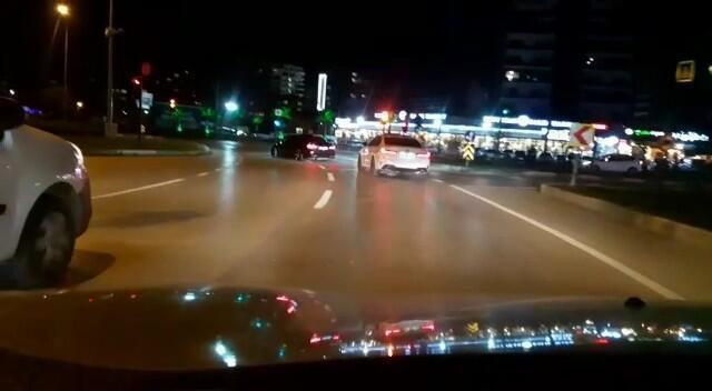 Bursa'da drift yapan sürücüler yakalandı