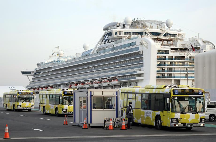 Japonya'daki karantina gemisinin yolcusundan makûs haber 1