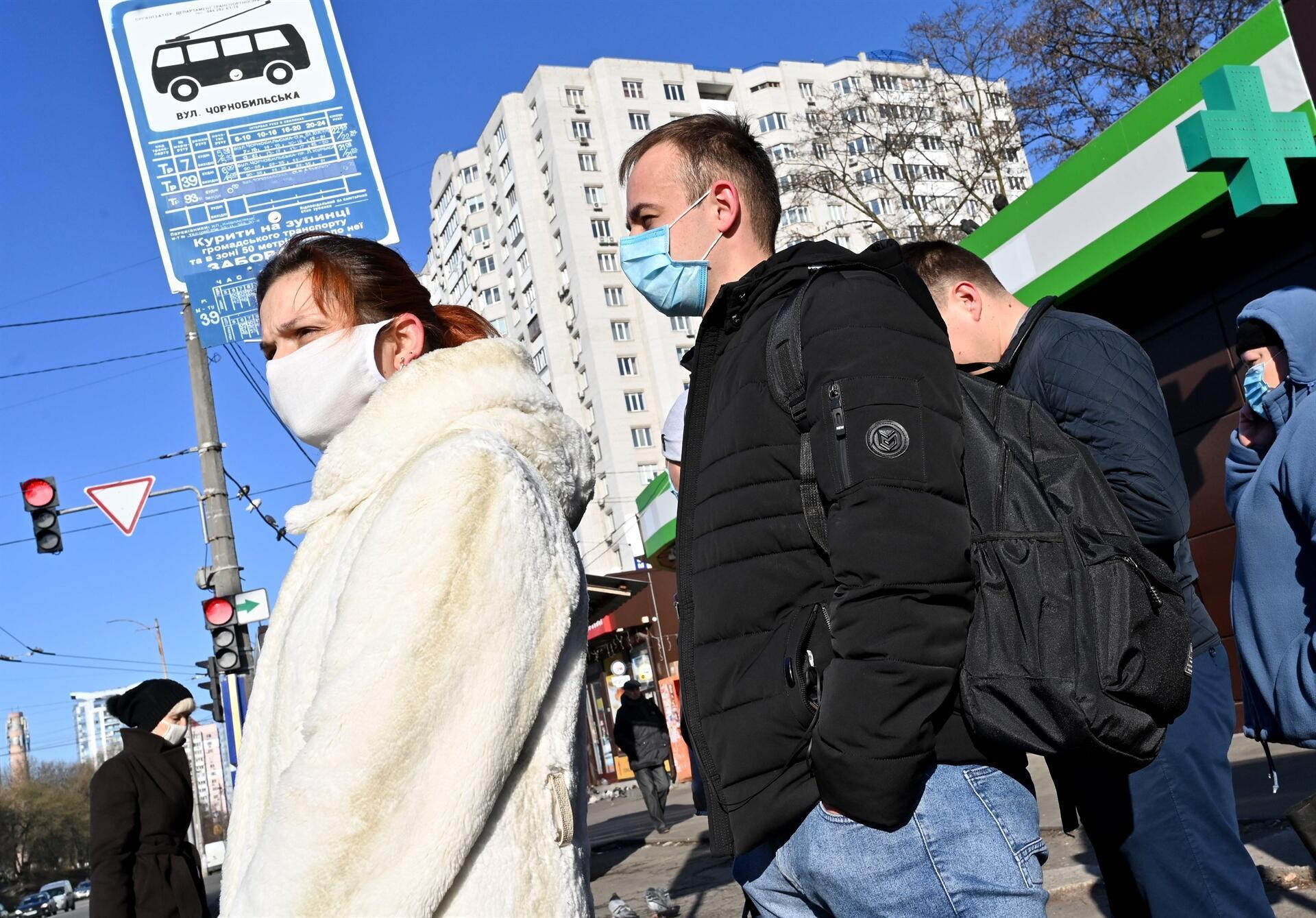 Ukrayna'da karantina nedeniyle toplu taşıma yasaklandı 1