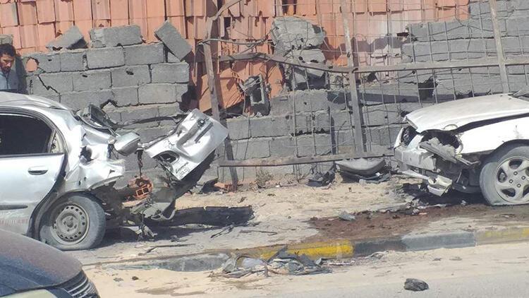 Libya'da roketli hücum: 2 meyyit 1