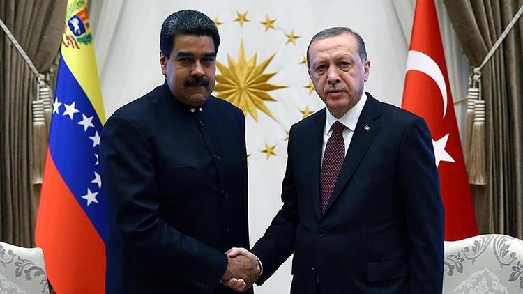 Cumhurbaşkanı Erdoğan'dan Maduro ile kritik görüşme