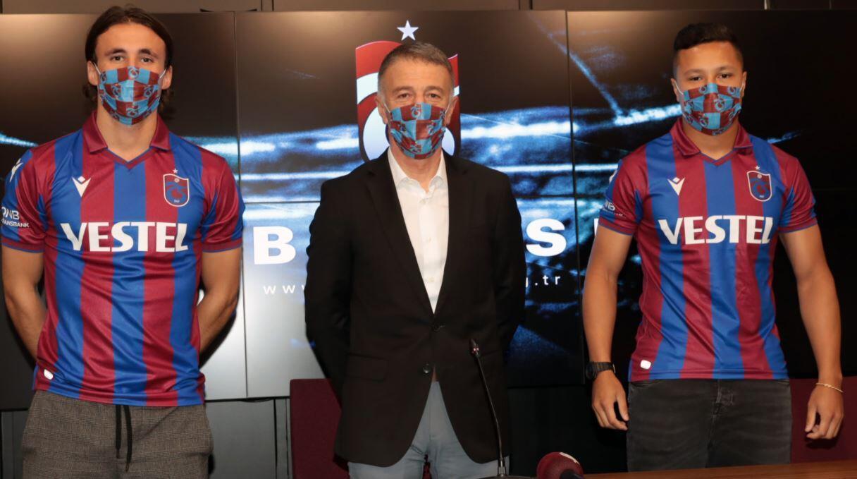 Son Dakika | Trabzonspor, yeni transferleri ile sözleşme imzaladı! - Spor  Haberi