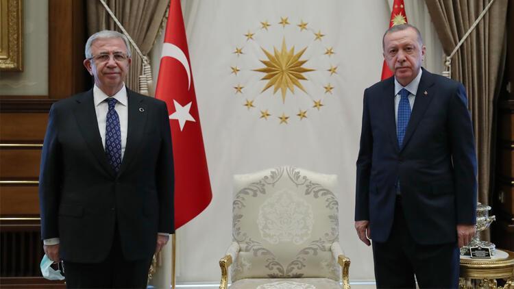 Cumhurbaşkanı Erdoğan, Mansur Yavaş'ı kabul etti - Son Dakika Flaş Haberler