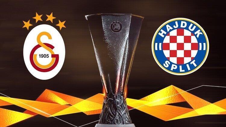 Galatasaray, UEFA Avrupa Ligi'nde tur peşinde! Rakip Hajduk Split...