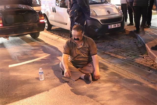 Ters yöne girip kaza yapan alkollü sürücüye 5 bin lira ceza kesildi