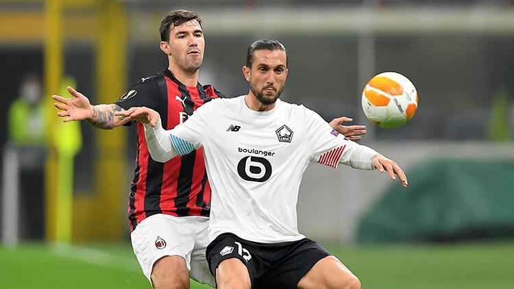 Milan 0-3 Lille (Yusuf Yazcı hat-trick yaptı) Maç Özeti