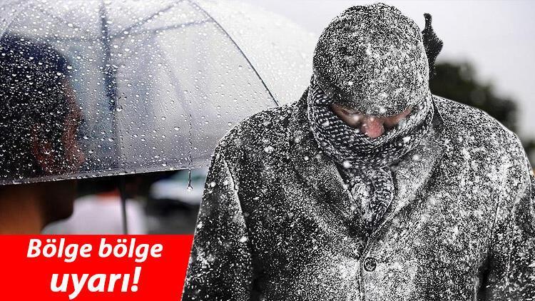 Son dakika haberler: Meteoroloji'den sağanak yağmur ve kar yağışı uyarısı!  İşte son hava durumu raporu - Son Dakika Haberleri