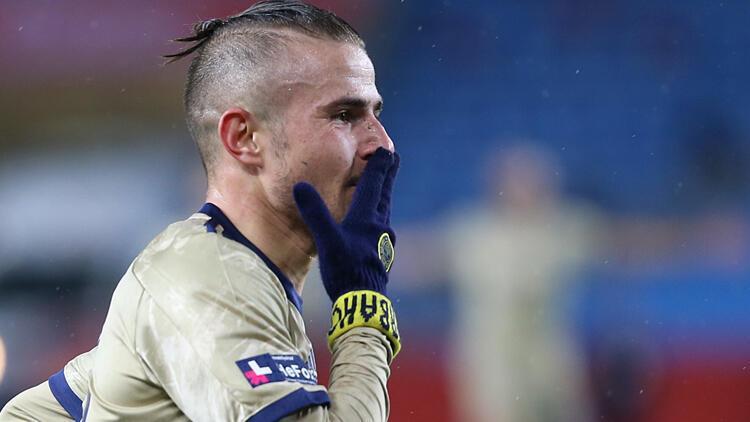Fenerbahçe'de Dimitris Pelkas alev alev!.. Erol Bulut siftah yaptı...