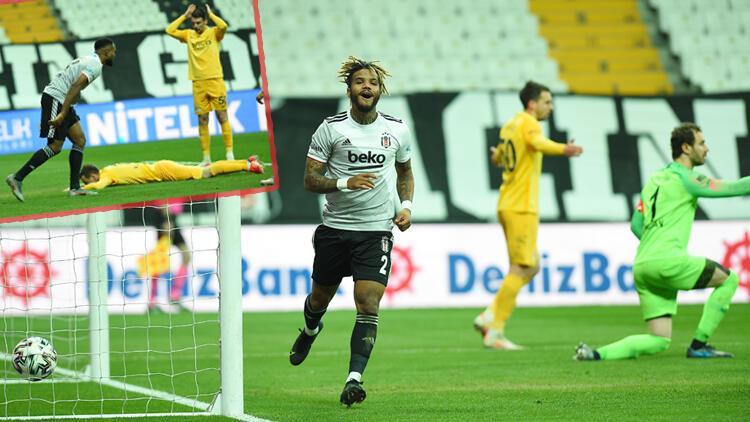 Beşiktaş - Ankaragücü maçında Ante Kulusic'ten kendi kalesine 2 gol