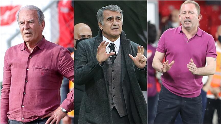 Beşiktaş yerli teknik adamlarla 4. kez şampiyon oldu! Mustafa Denizli, Şenol Güneş, Sergen Yalçın...