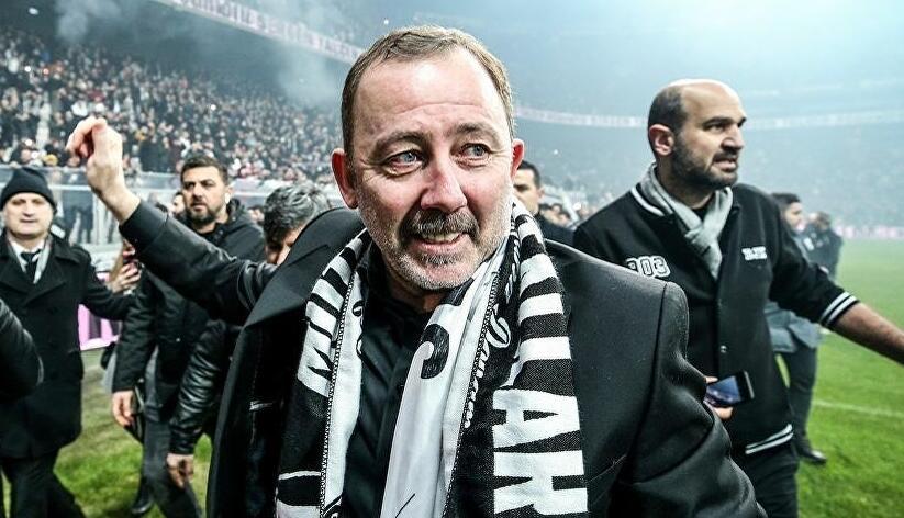 Son dakika: Şampiyon Beşiktaş'ta Ahmet Nur Çebi'den Sergen Yalçın ve sözleşme açıklaması