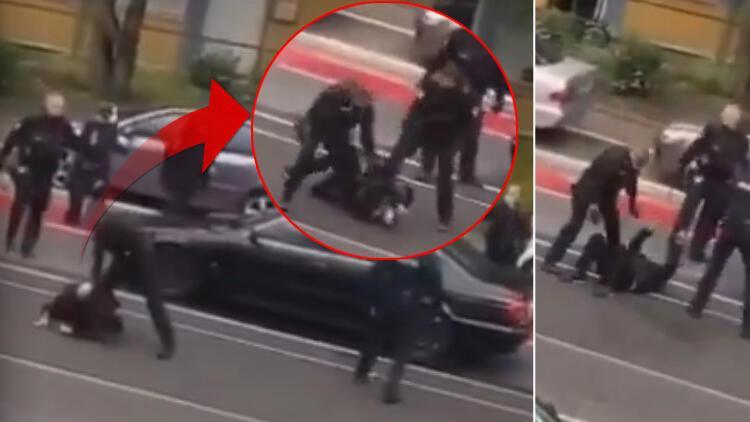 Alman polisinden skandal hareket! Hastaneye giden Türk vatandaşını darp ettiler