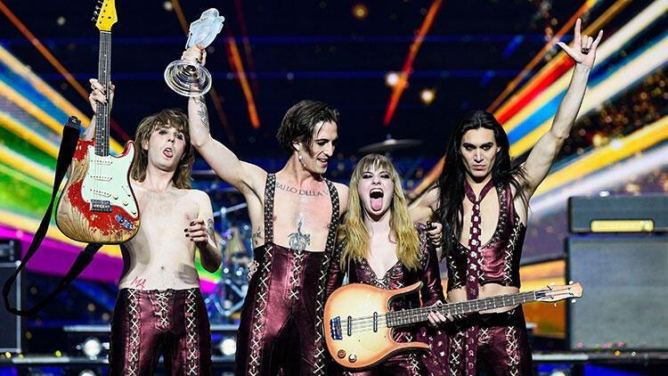 Eurovision Şarkı Yarışması'nda kazanan belli oldu! Kupayı Maneskin kaldırdı - Güncel Haberler