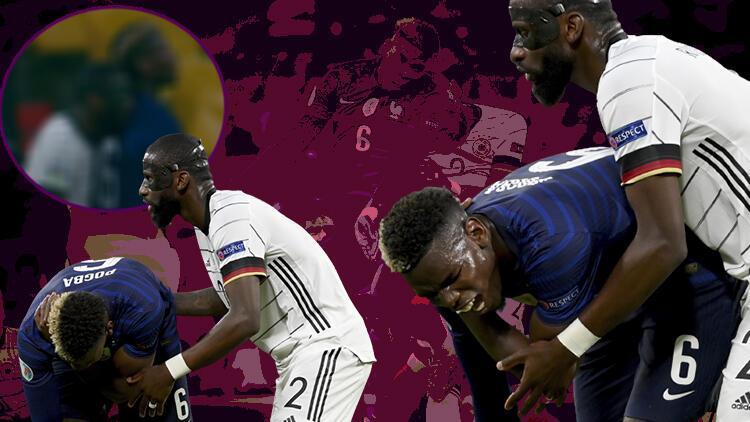 EURO 2020'deki Fransa - Almanya maçına damga vuran ısırık olayı!