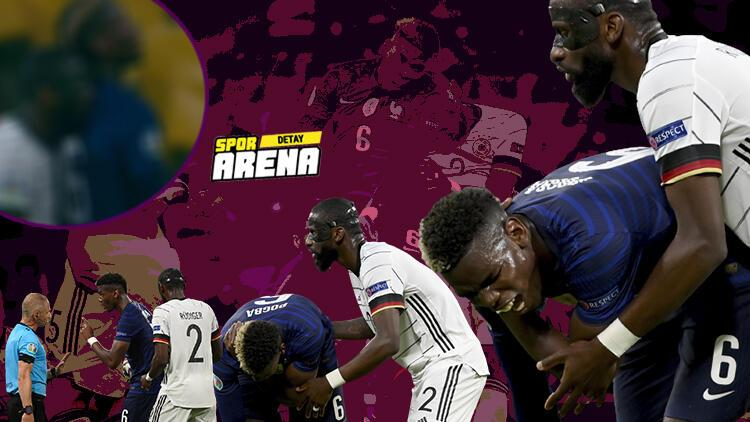EURO 2020'deki Fransa - Almanya maçına damga vuran ısırık olayı! - Spor Haberleri