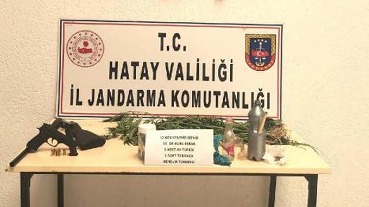 Hatay'da uyuşturucu operasyonuna 3 tutuklama