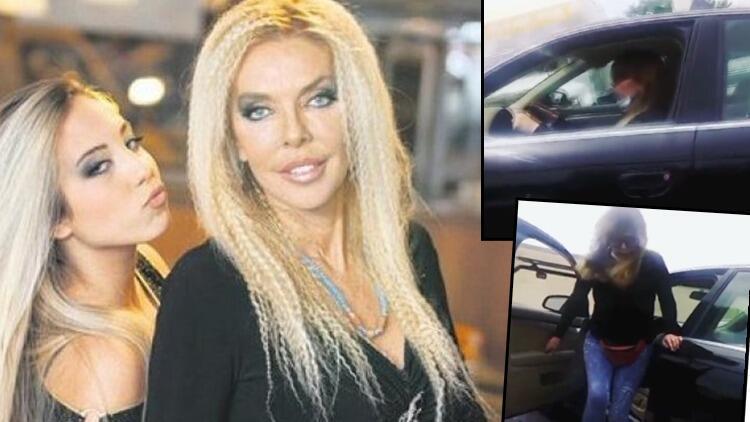 Ahu Tuğba, kızı Anjelik'in otomobilini çöpe attı