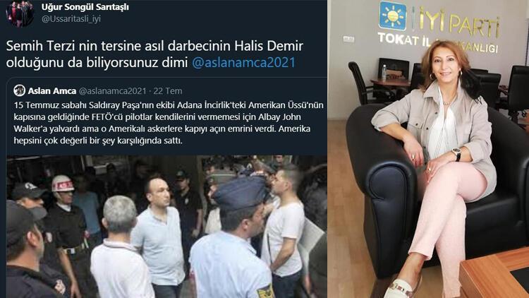 15 Temmuz kahramanı Ömer Halisdemir için 'darbeci' diyen İYİ Partili Uğur Songül Sarıtaşlı'ya soruşturma - Son Dakika Flaş Haberler
