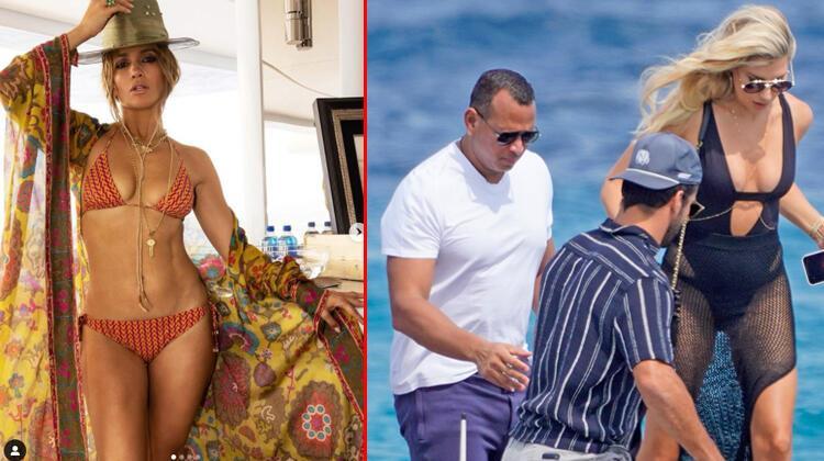 Jennifer Lopez ile eski nişanlısı Alex Rodriguez'in yat savaşları