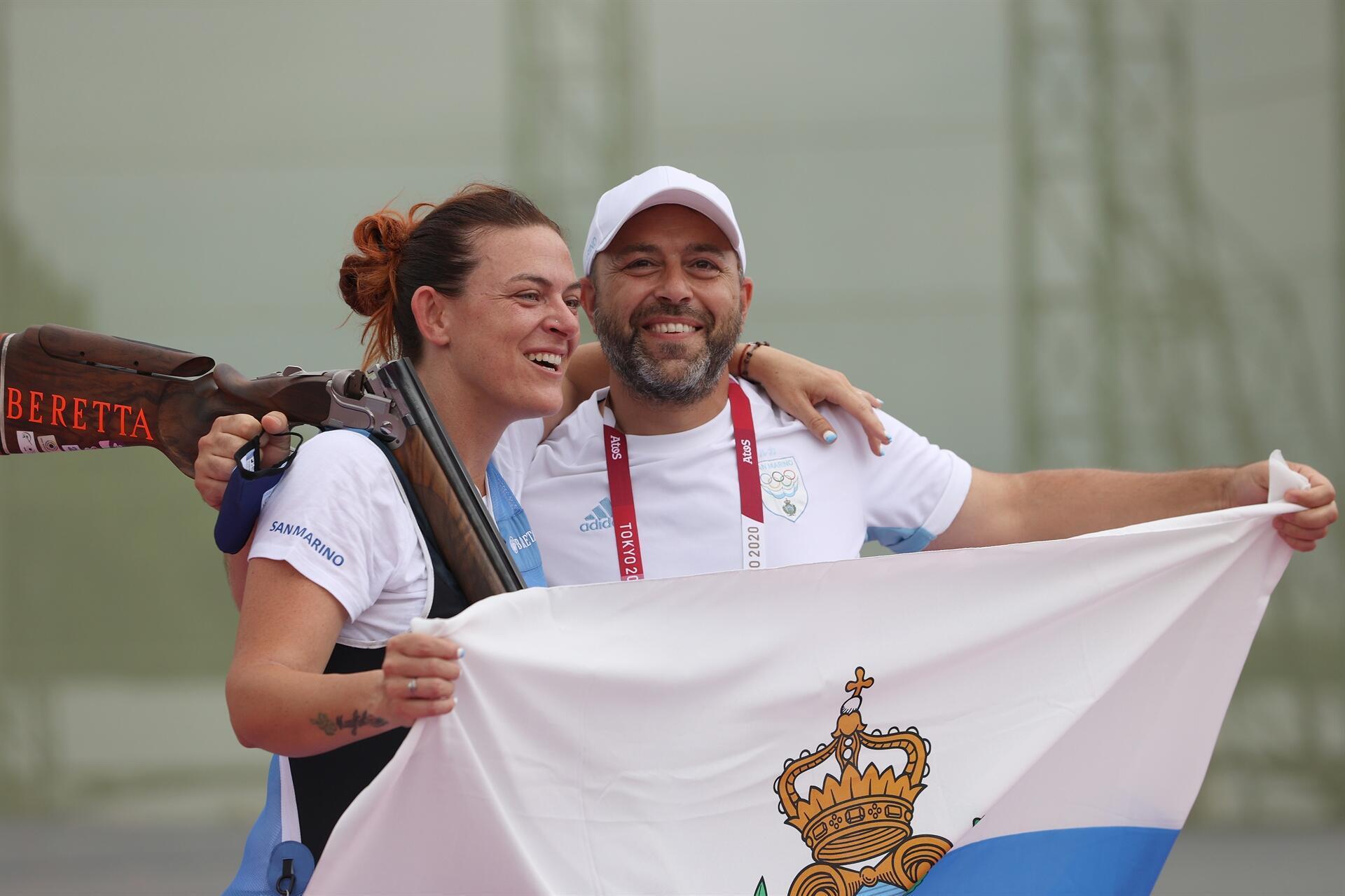 Tokyo 2020 Haberleri: San Marino'dan olimpiyat tarihinde bir ilk! Atıcılık trap kategorisinde bronz madalya...