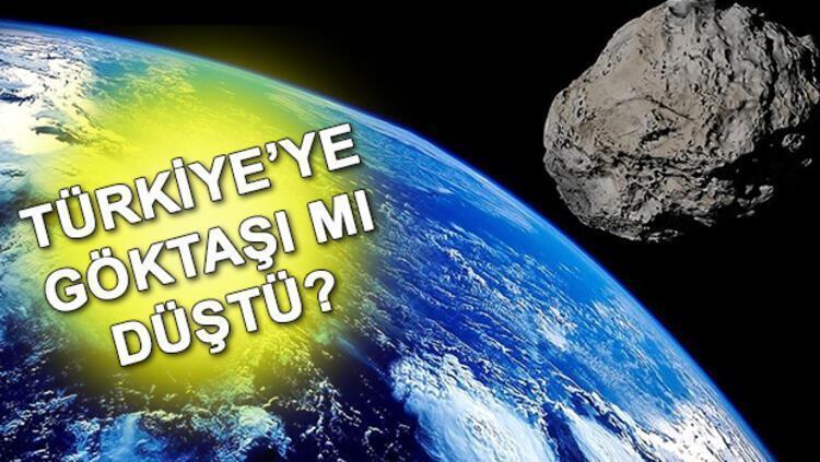 Son dakika haberi: İzmir'e meteor düştü iddiası - Meteor nedir ve nasıl oluşur? - Son Dakika Haber
