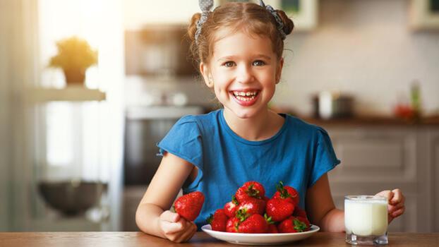 Çocukların beslenmesinde mutlaka bulunmalı