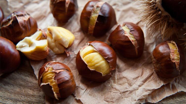 3 Tanesi 1 Dilim Ekmeğe Eşdeğer: Kestane