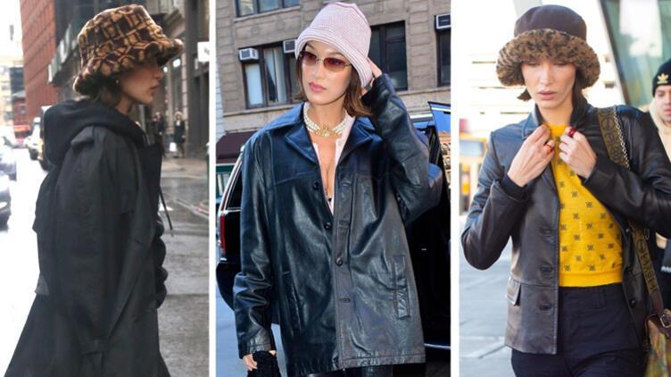 Bella Hadid 90'ların Şapka Modasını Geri Getirdi