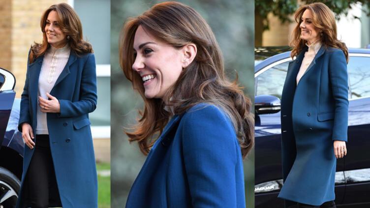 Kate Middleton: Jaeger Manto