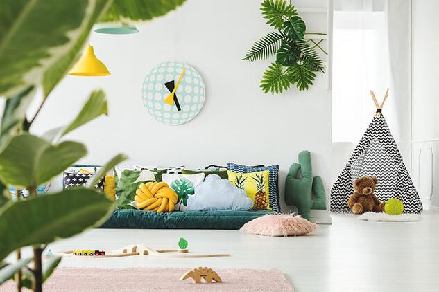 Çocuklu aileler için keyifli dekorasyon önerileri