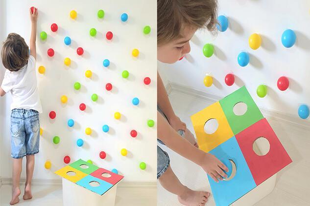 Çocukların motor becerilerini geliştirecek eğlenceli bir aktivite