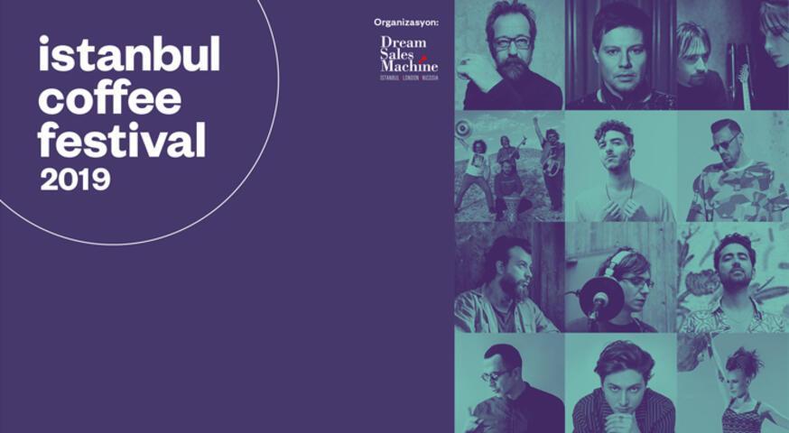 İstanbul Coffee Festival'de Sevilen Müzisyenler Sahne Alacak