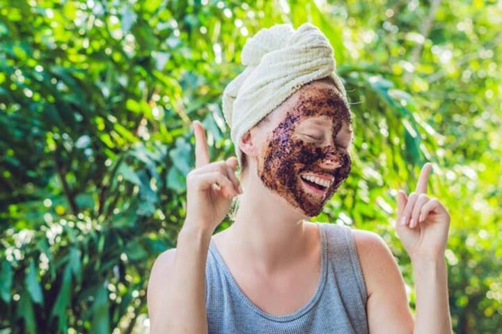 Ev Yapımı 5 Kahve Maskesi Tarifi